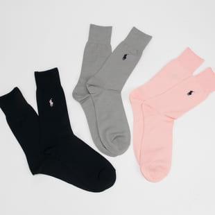 Polo Ralph Lauren 3Pack Mercerizd Crew Socks