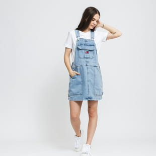 TOMMY JEANS Cargo Dungaree Dress