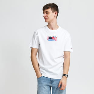 TOMMY JEANS M Timeless Tommy Flag Tee
