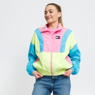 TOMMY JEANS W Colorblock Zip Through
