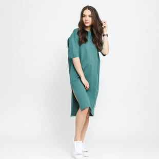 Urban Classics Ladies Organic Oversized Slit Tee Dress