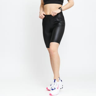 Urban Classics Ladies Synthetic Leather Cycle Shorts