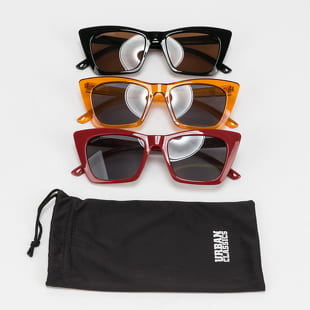 Urban Classics Sunglasses Tilos 3-Pack