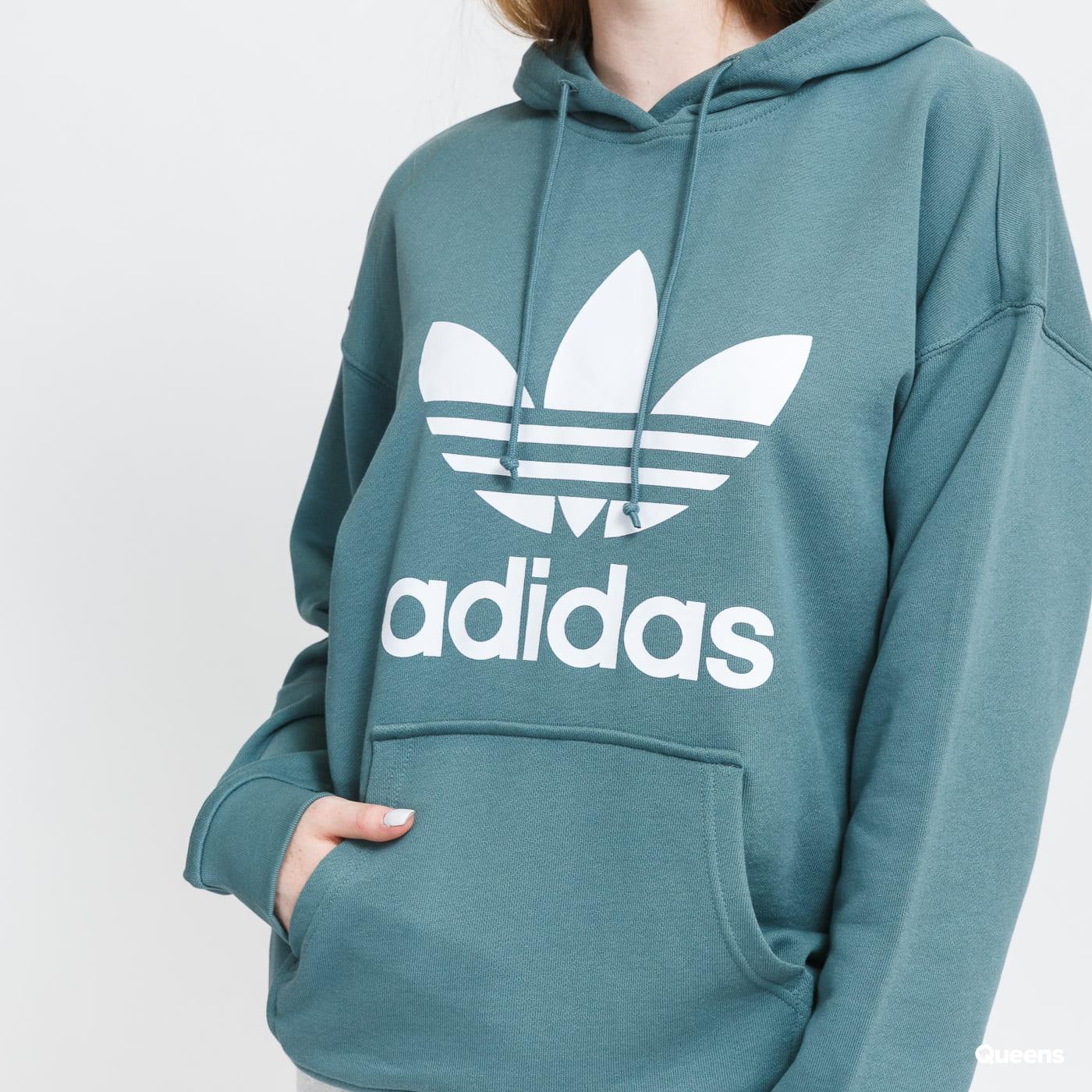 adidas Originals Adicolor Trefoil Hoodie green