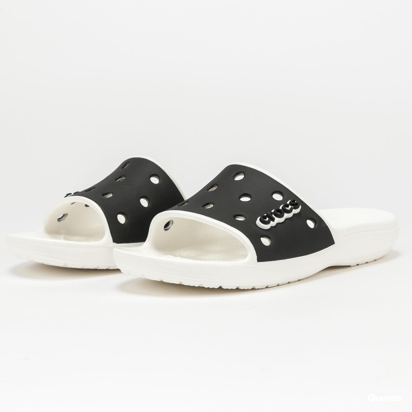 Crocs Classic Crocs Colorblock Slide white / black