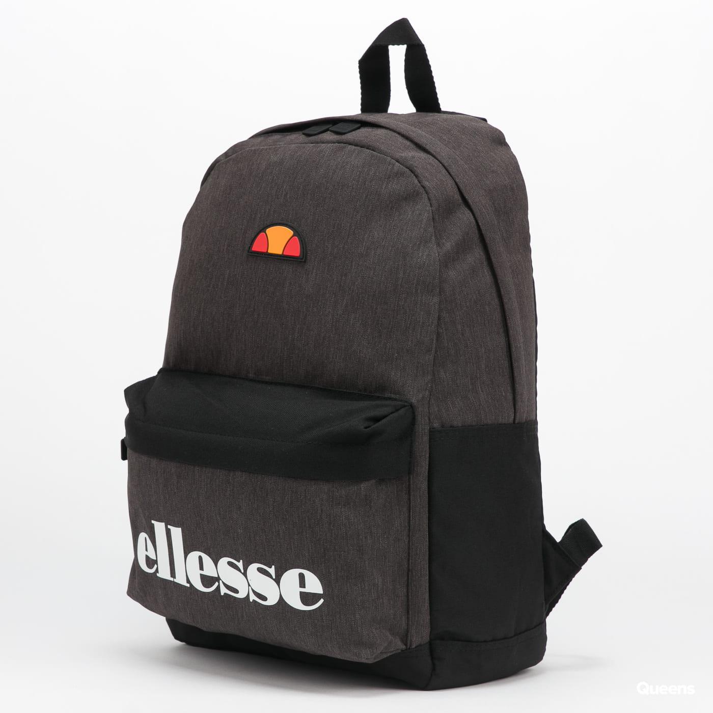 ellesse Regent Backpack melange tmavě šedý / černý
