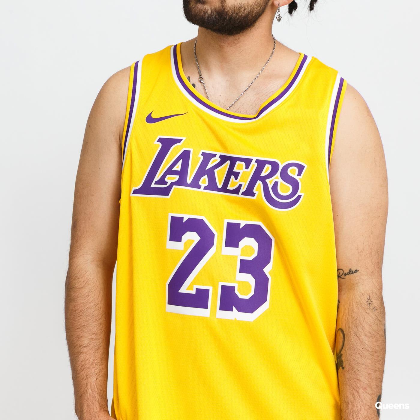 Jordan LeBron James Lakers Icon Edition 2020 yellow