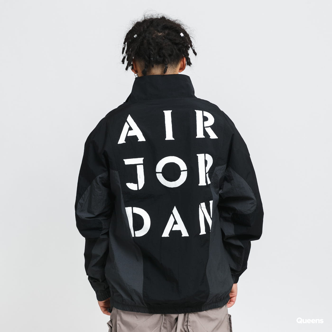 Jordan M J AJ5 Jacket black / dark gray