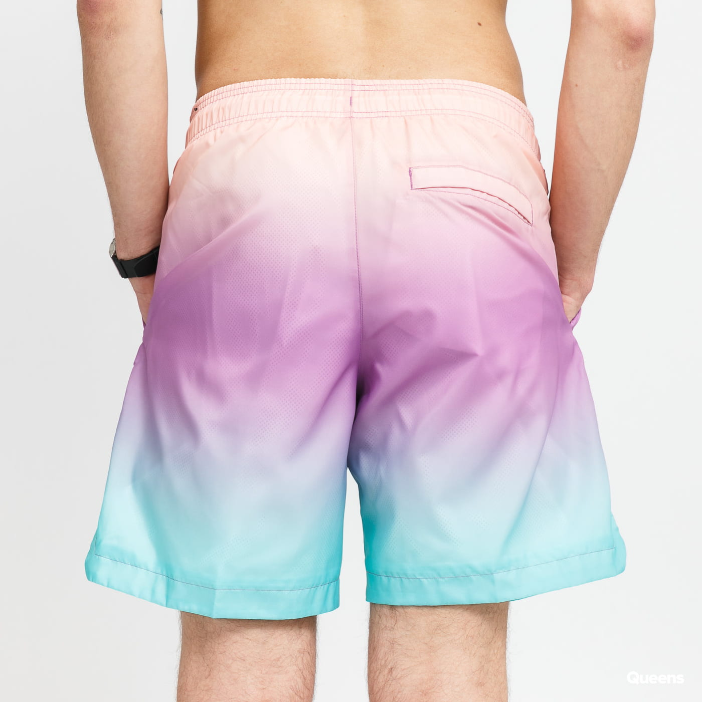 Jordan M J Sport DNA HBR Pool Short oranžové / fialové / mentolové