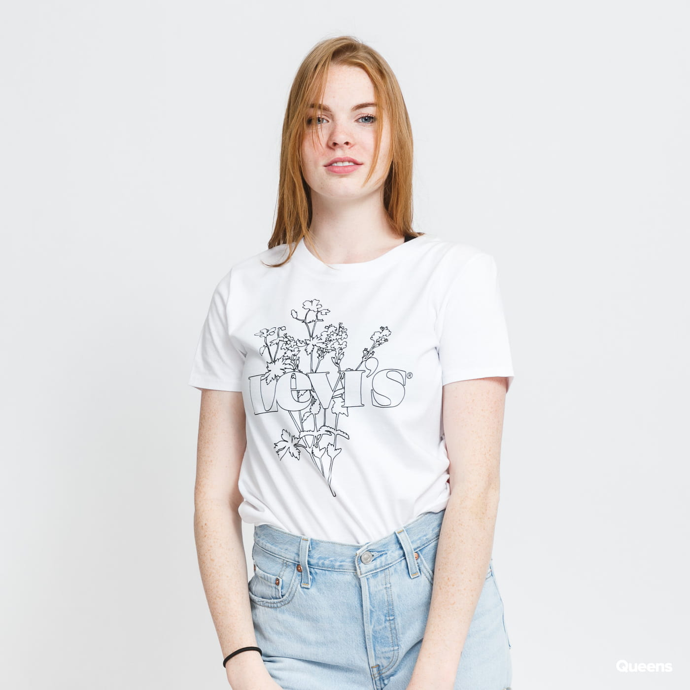 Levi's ® Graphic Surf Tee Flower blue / turquoise
