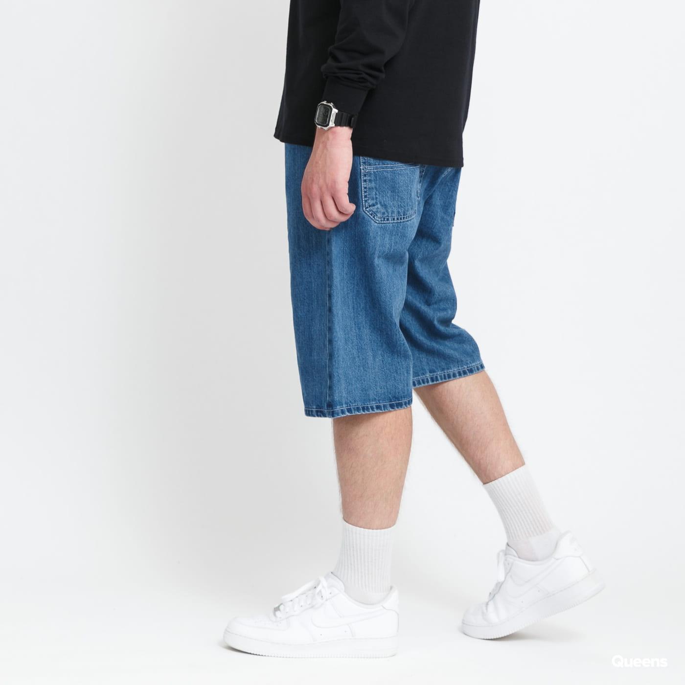 Mass DNM Block Shorts blue