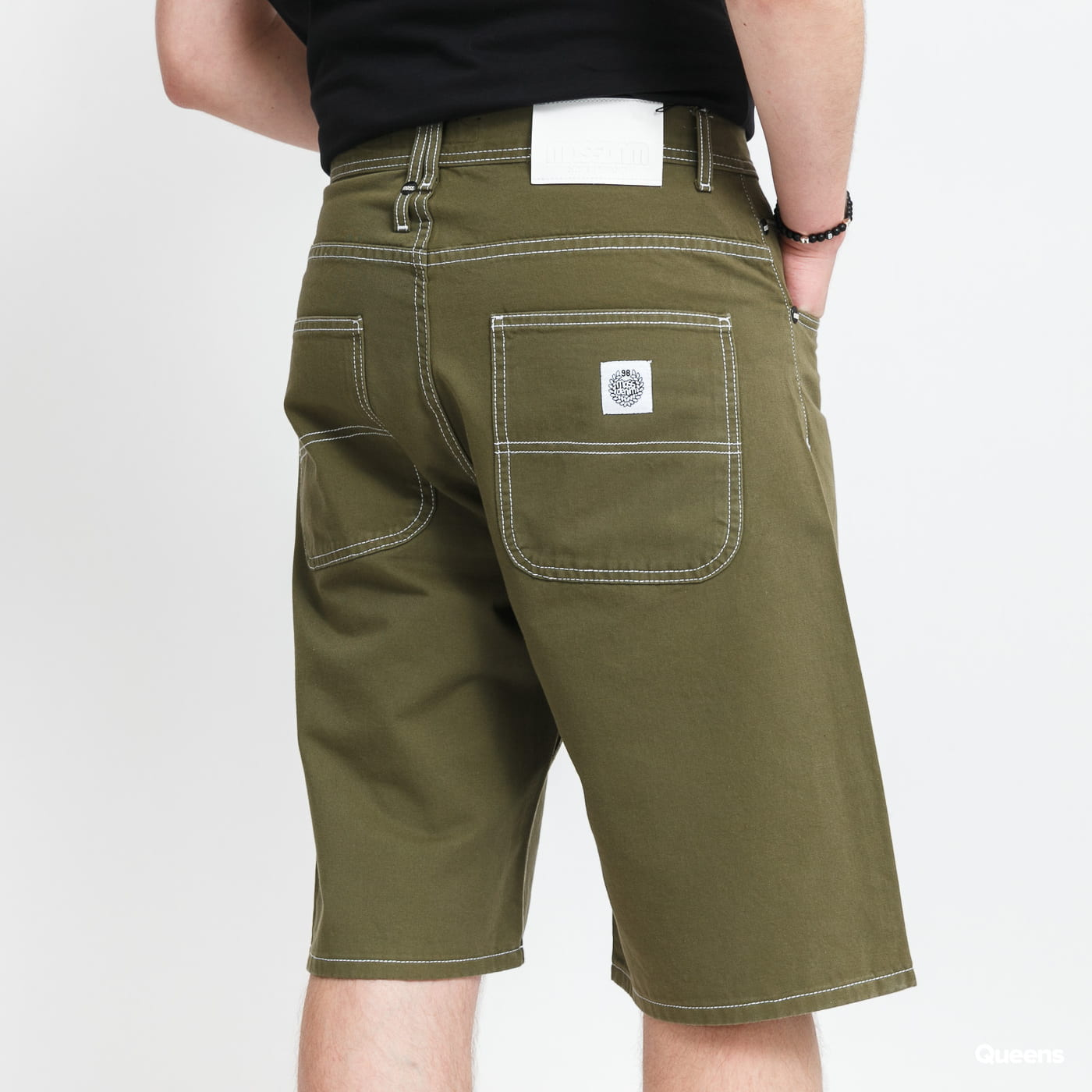 Mass DNM Craft Baggy Fit Shorts olive
