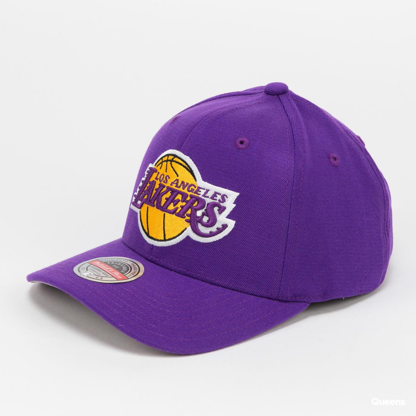 Mitchell & Ness NBA Team Ground Redline Snapback LA Lakers purple / gray