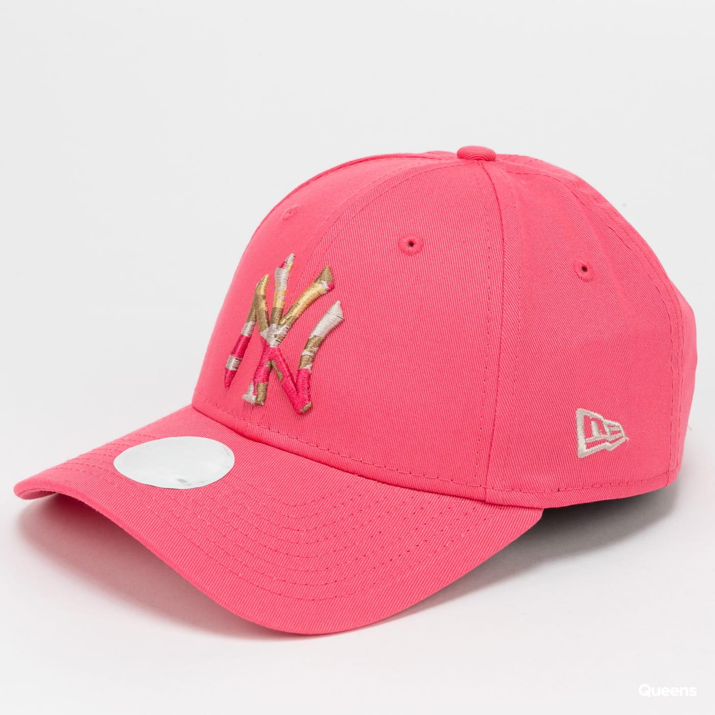 New Era 940W MLB WMNS Camo Infill NY pink