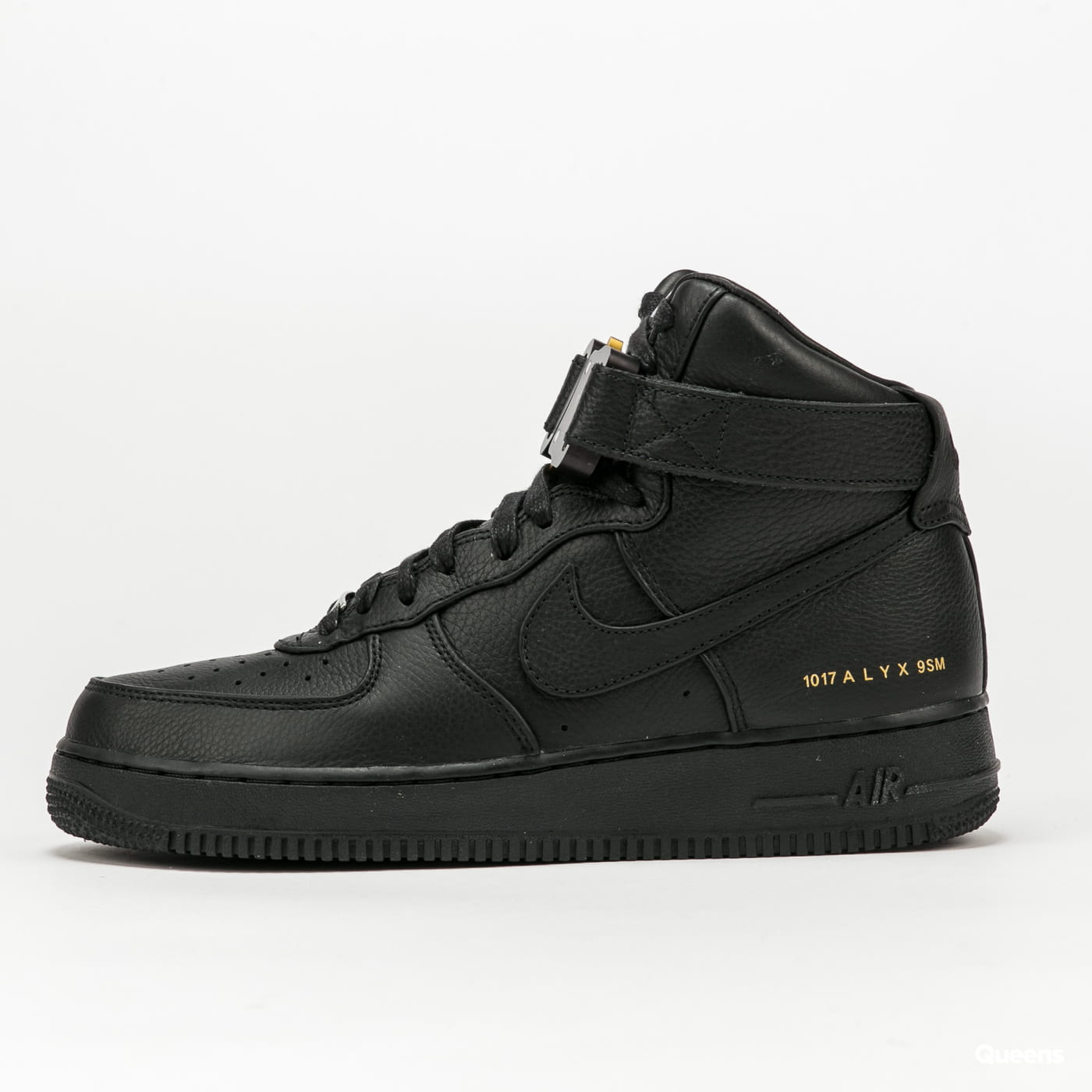 Nike Air Force 1 HI / ALYX black / black - metallic gold