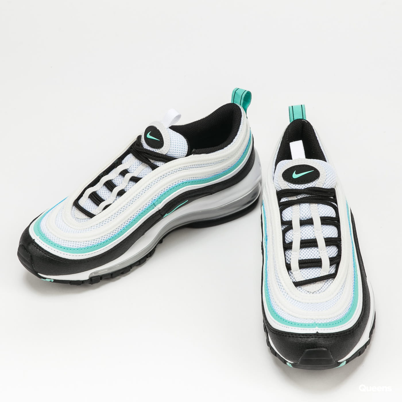 Nike Air Max 97 GS white / tropical twist - black