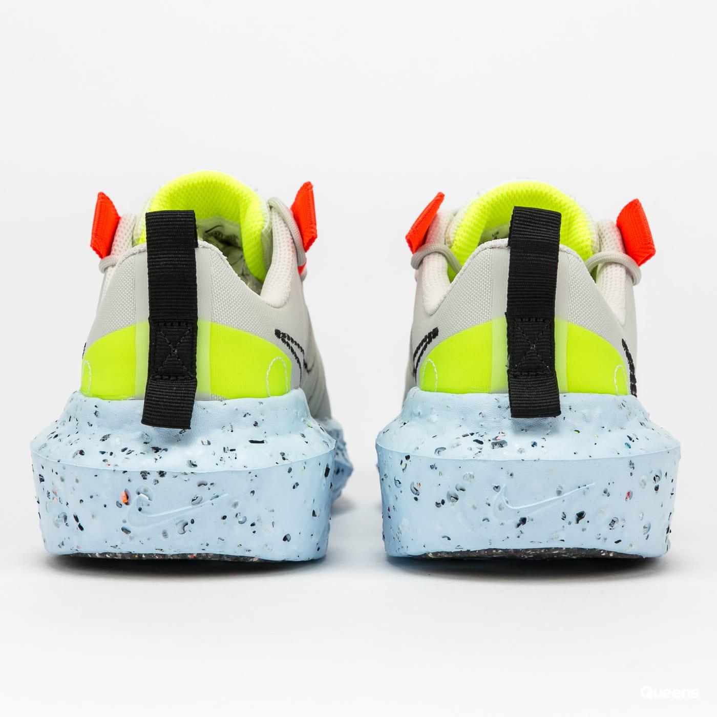 Nike Crater Impact light bone / black - stone - volt