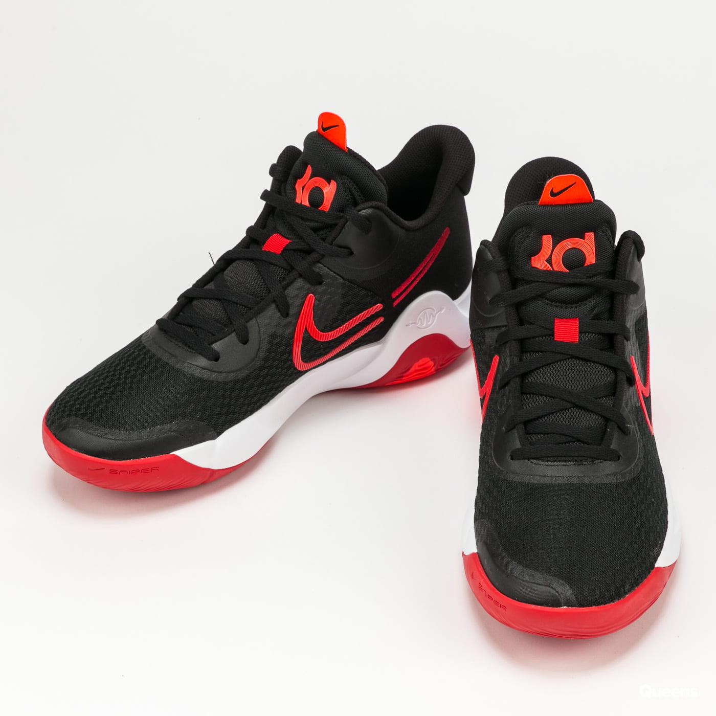 Nike KD Trey 5 IX black / university red - white