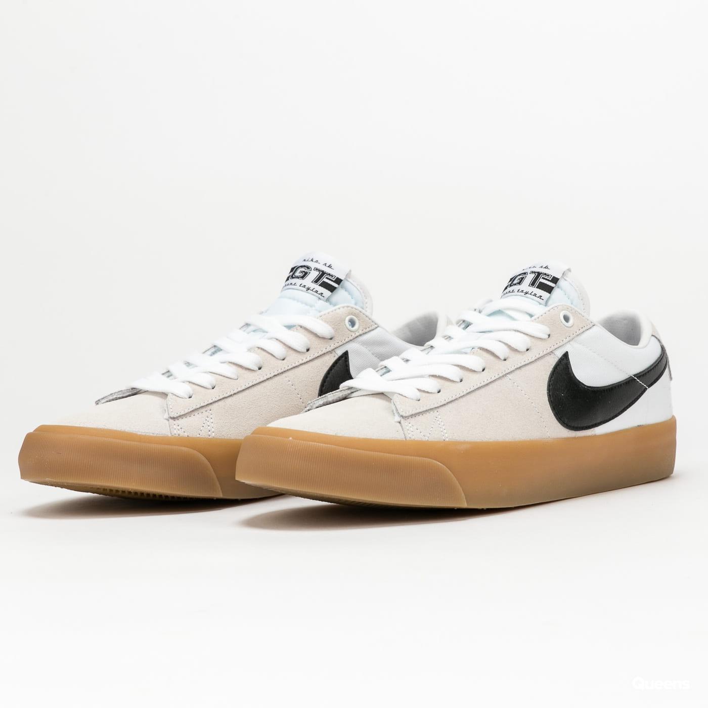Nike SB Zoom Blazer Low Pro GT white / black - white - white