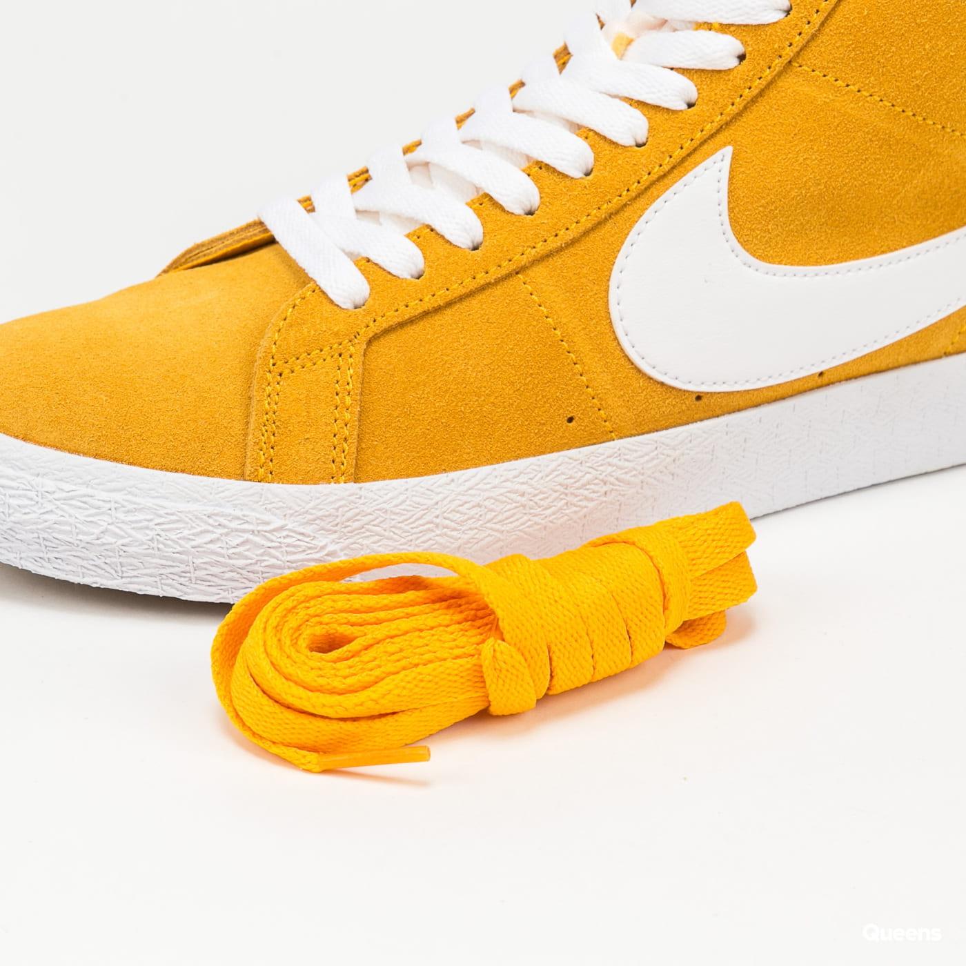 Nike SB Zoom Blazer Mid university gold / white