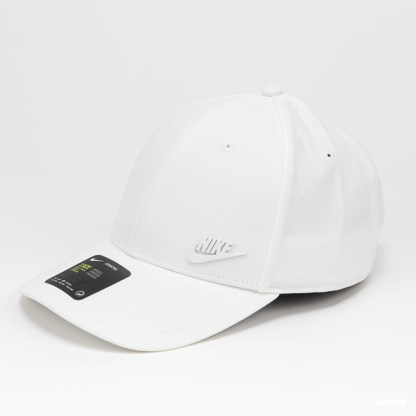 Nike U NSW L91 Metal Futura Cap bílá