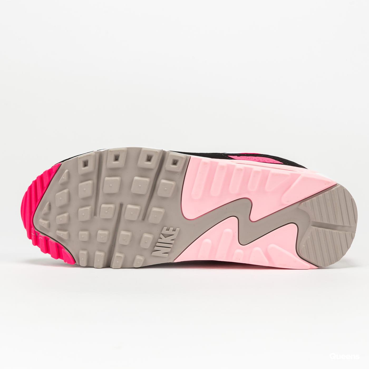 Nike WMNS Air Max 90 white / hyper pink - black