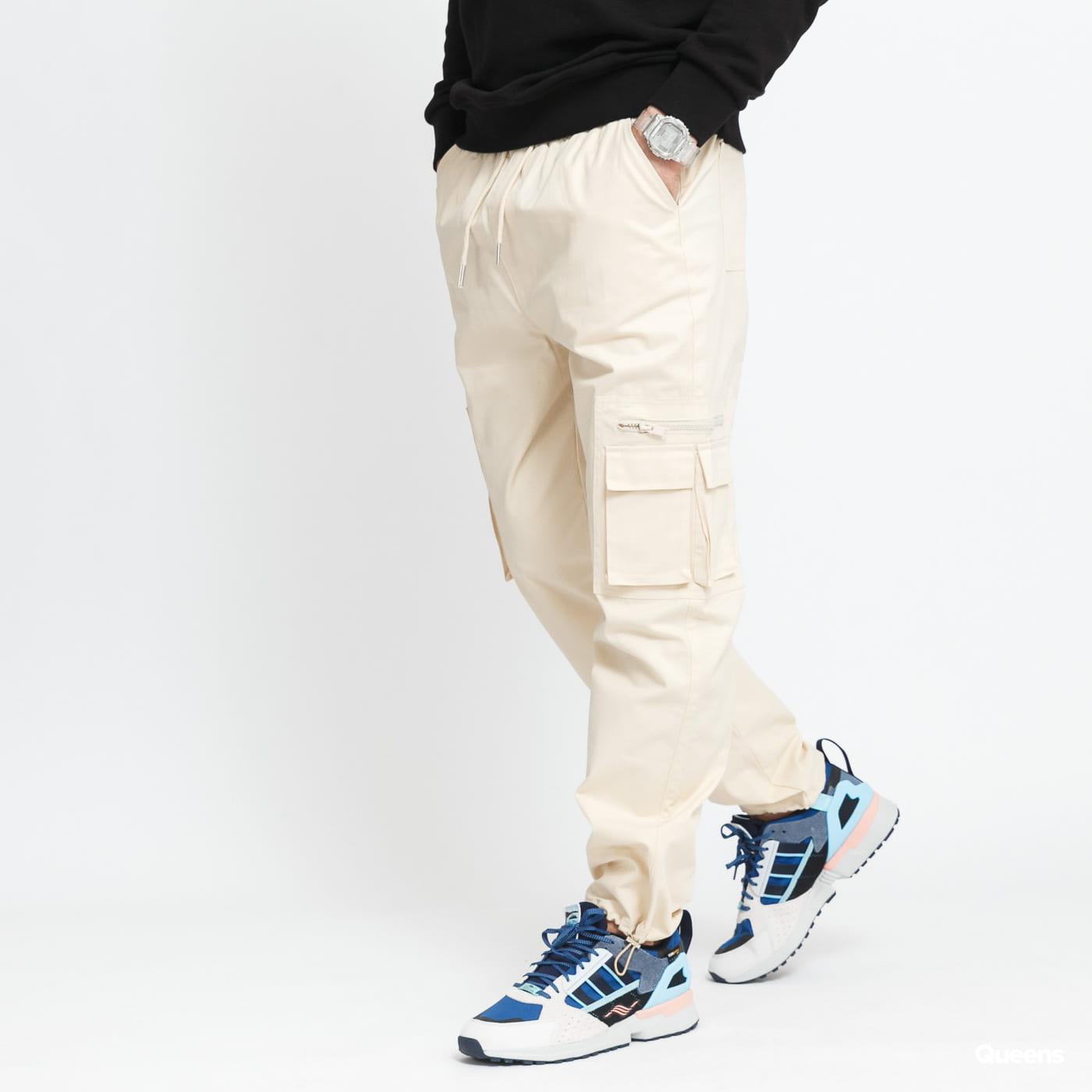 Sixth June Cargo Pant With Reflextive Pocket cream