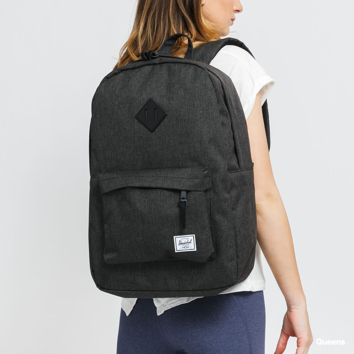 Herschel Supply CO. Heritage Backpack melange černý