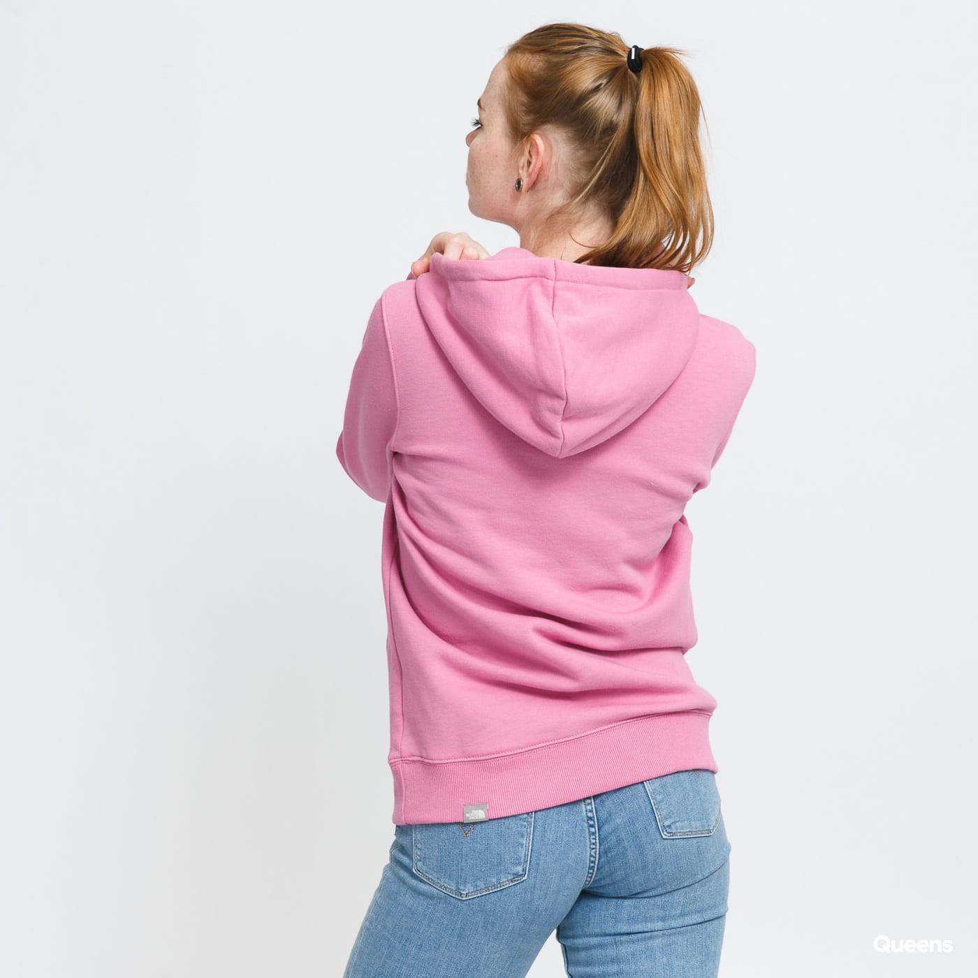 The North Face W Drew Peak Pull Hoody pink