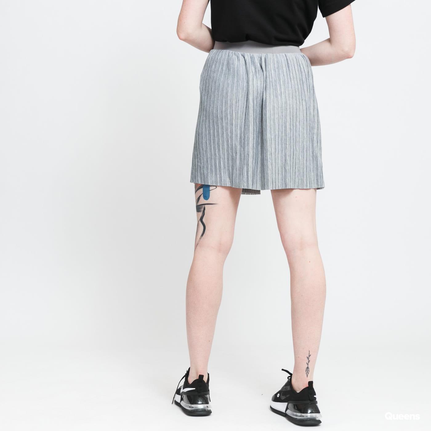 Urban Classics Ladies Jersey Pleated Mini Skirt gray
