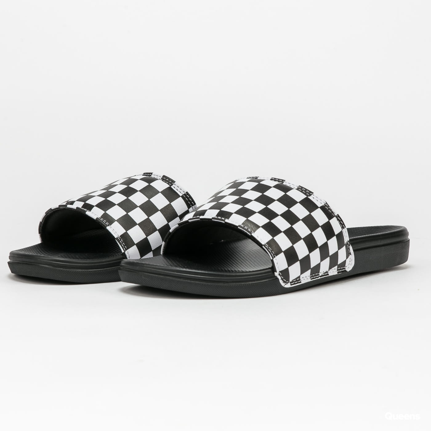 Vans MN La Costa Slide-On (checkerboard)truwht / blk