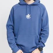 adidas Originals Adicolor 3D Trefoil Graphic Hoodie modrá