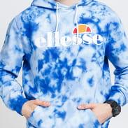 ellesse SL Gottero Tie Dye OH Hoody modrá / navy