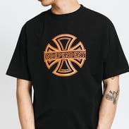 INDEPENDENT Convex Tee černé