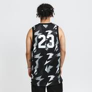 Jordan M J Jumpman AOP Jersey černý / šedý / bílý