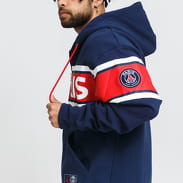 Jordan M J PSG Fleece FZ navy / červená / bílá