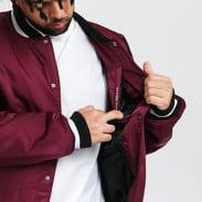 Jordan M J PSG Varsity Jacket vínová