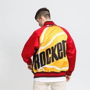 Mitchell & Ness Colossal Jacket Rockets černá / červená