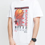 Mitchell & Ness NBA Vibes Tee Chicago Bulls bílé