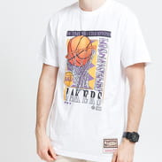 Mitchell & Ness NBA Vibes Tee LA Lakers bílé