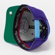 Mitchell & Ness Wool 2 Tone Redline Snapback Jazz fialová / modrá / zelená
