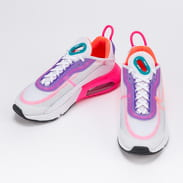 Nike W Air Max 2090 white / hyper oramge - photon dust