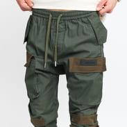 Sixth June Cargo Pants olivové