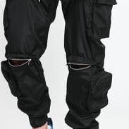 Sixth June Multiple Pocket Cargo Pant černé