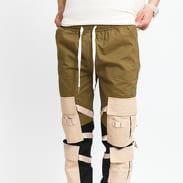Sixth June Tactical Pant olive / black / light beige