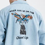 The Quiet Life Kenney Garage Jacket light denim