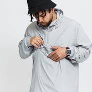 Urban Classics Basic Pull Over Jacket šedá