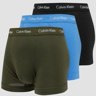 Calvin Klein 3Pack Trunks Cotton Stretch