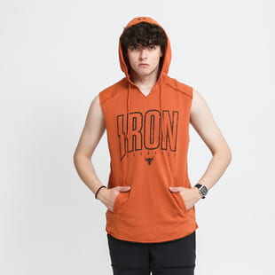 Under Armour Project Rock Terry Iron Sleeveless Hoodie