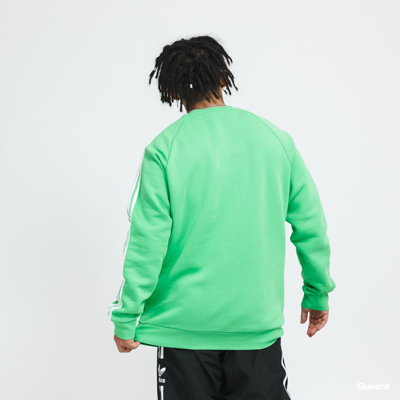 adidas Originals 3-Stripes Crew green